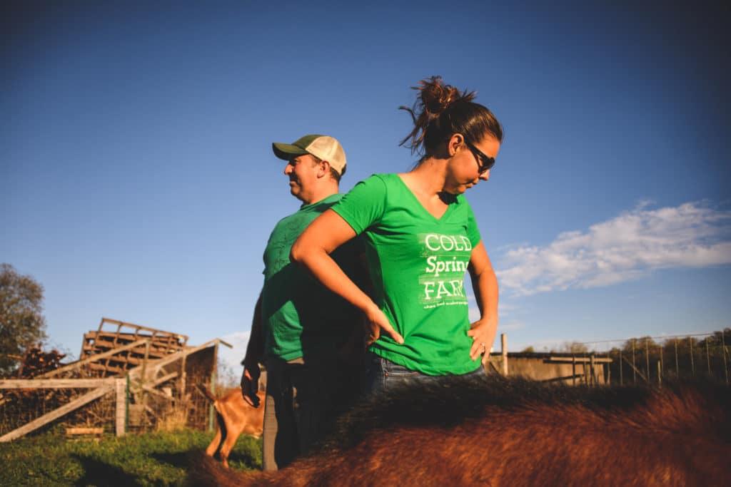 Meet the Farmers - Jeff & Jess