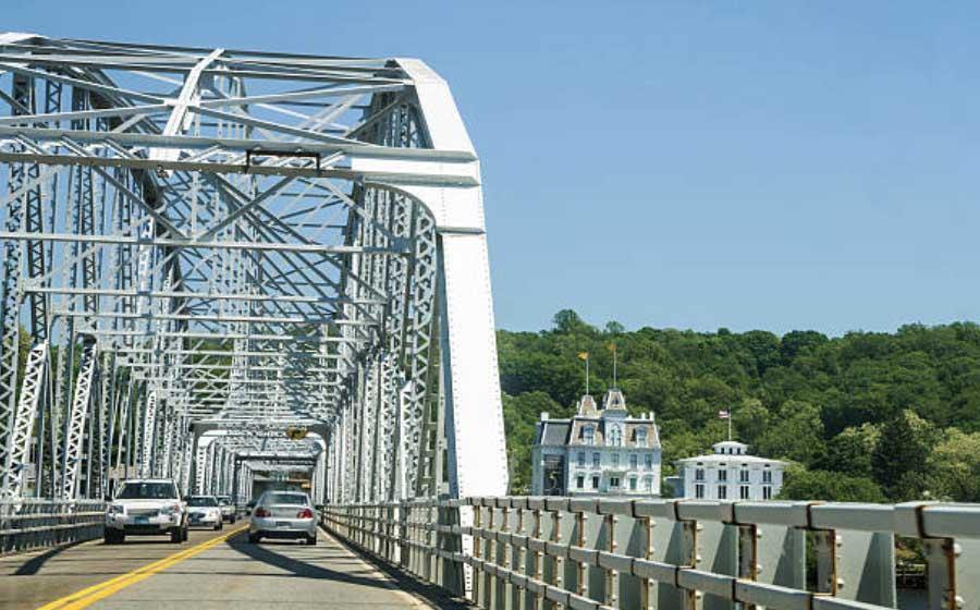 Swing Bridge, East Haddam, CT