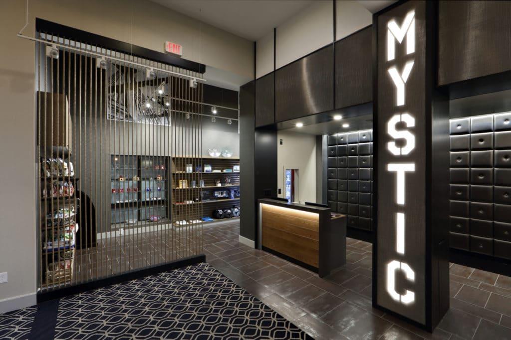 Hilton Mystic Lobby Reception Area