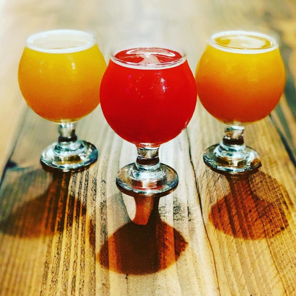 30 Mile Brewing Co. - a variety on tap