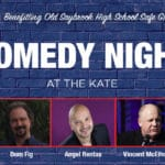 comedy night at The Kate