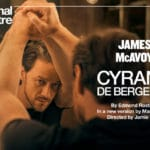 Cyrano de Bergerac, broadcast live to cinemas from the London's West End.
