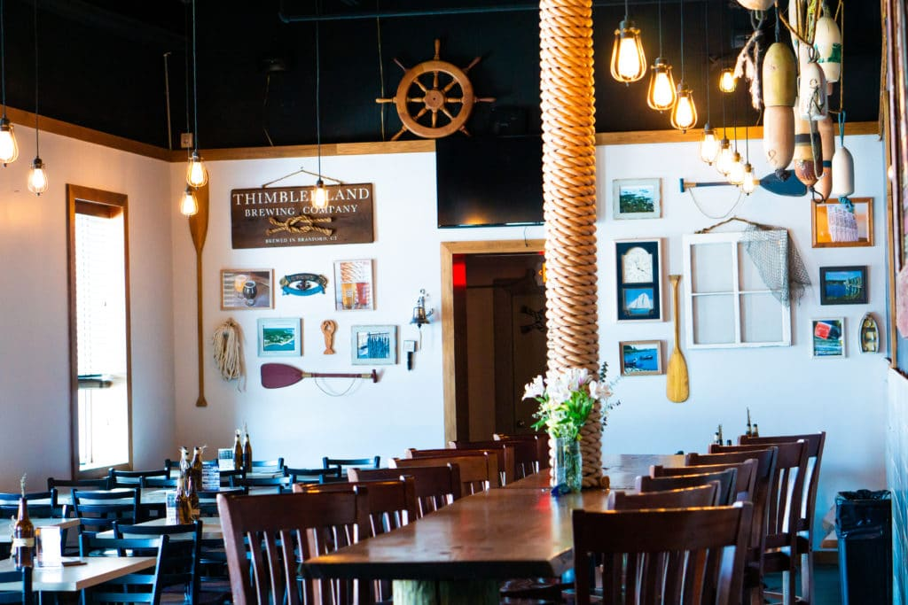 Thimble Island Brewery - inviting and relaxing