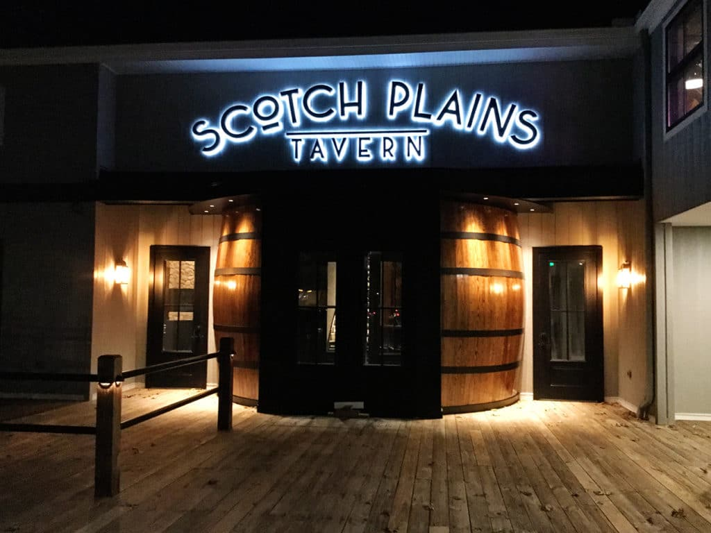 Scotch Plains Tavern - Iconic Scotch Barrel Entrance