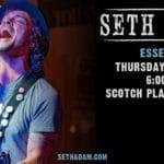 Seth Adams singer/song writer debuts at Scotch Plains Tavern