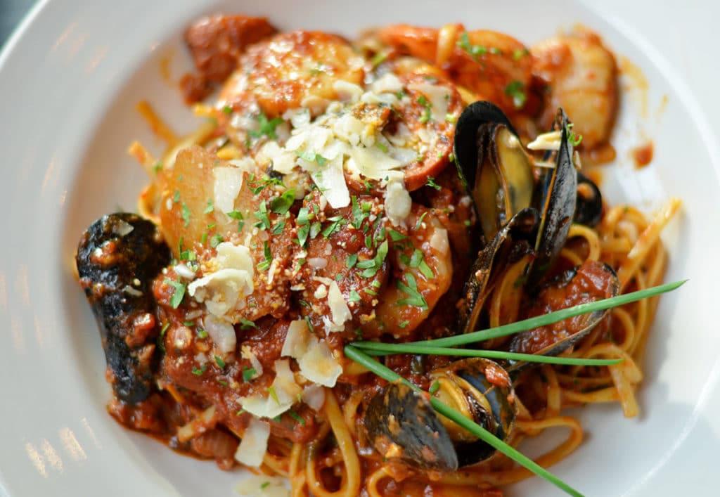Tavern Fare - Seafood Fra Diavolo