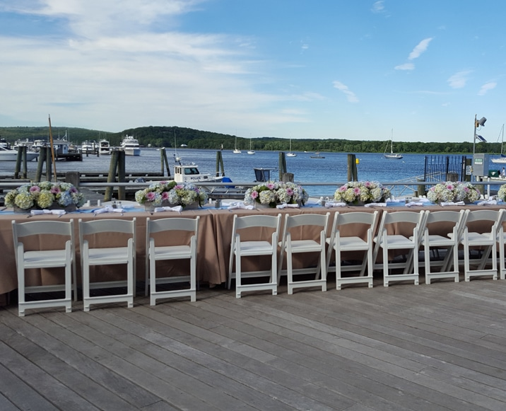 Connecticut River Museum - Weddings - Boathouse Room and North Deck