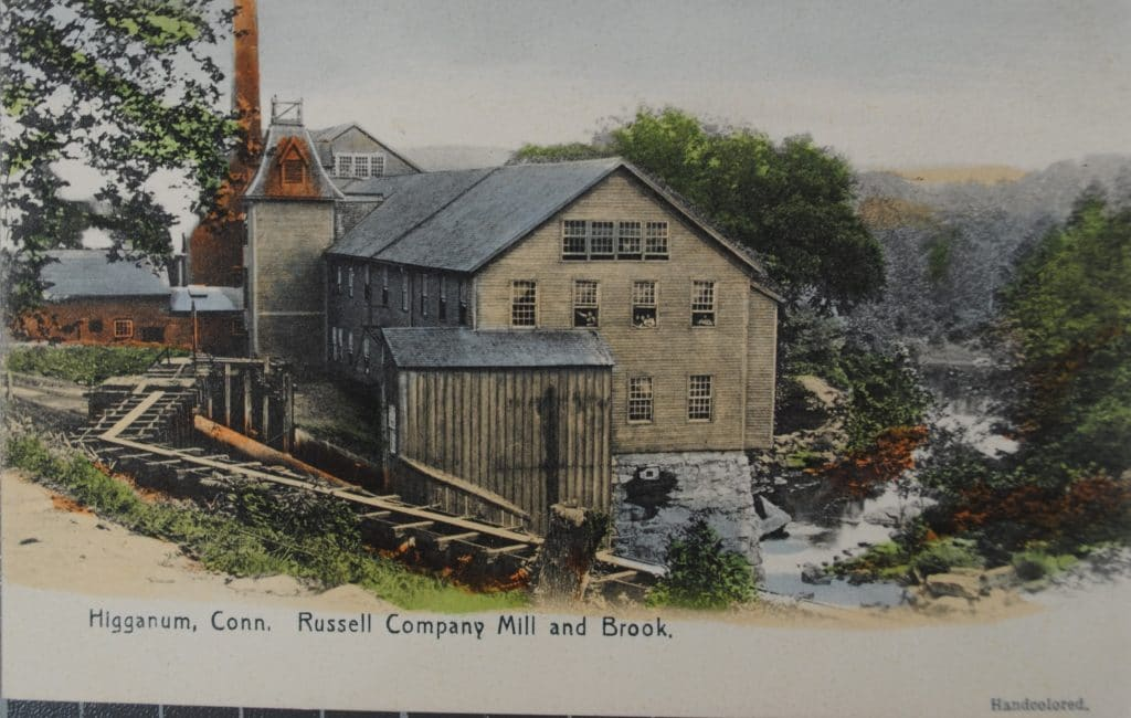 Higganum, CT - Russell Company Mill and Brook