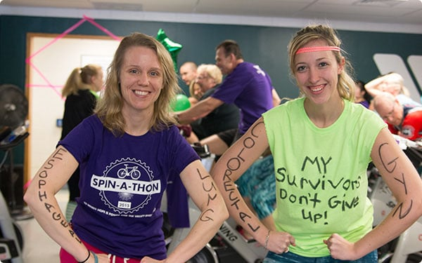 Valley Shore YMCA - Spin-A-Thon
