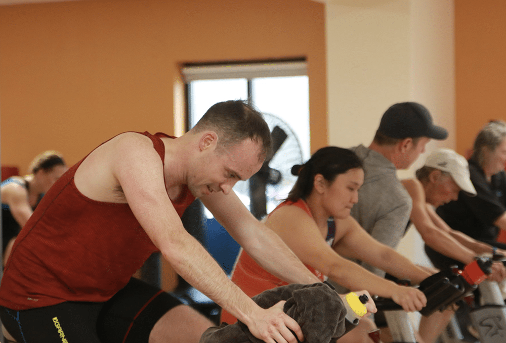 Valley Shore YMCA - spin class