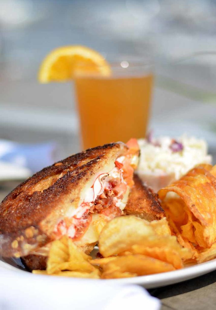 Fresh Seafood Lobster Grilled Cheese