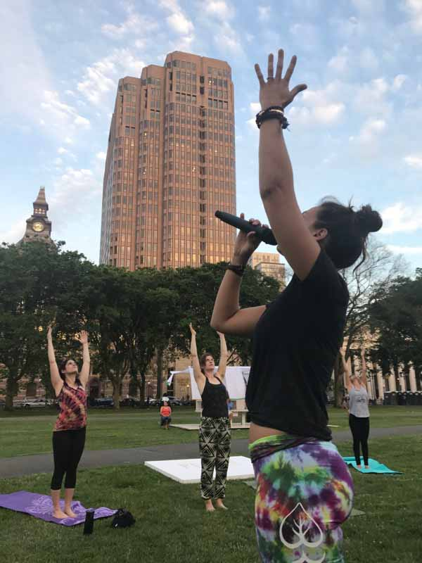 Stay tuned to Breathing Room's Events Calendar for outdoor yoga, special community events and festivals