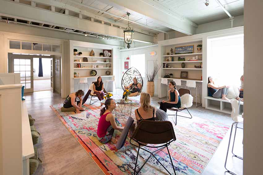 The Den is more than a yoga center it's a community space