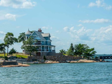 Thimble Island in Branford, Connecticut