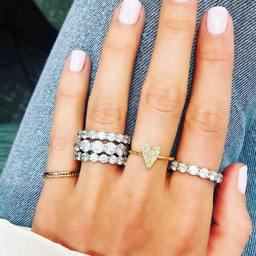 Stackable and Dainty Rings