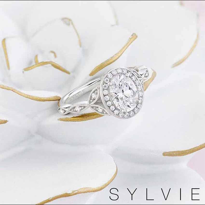 Sylvie Collection - Engagement Ring